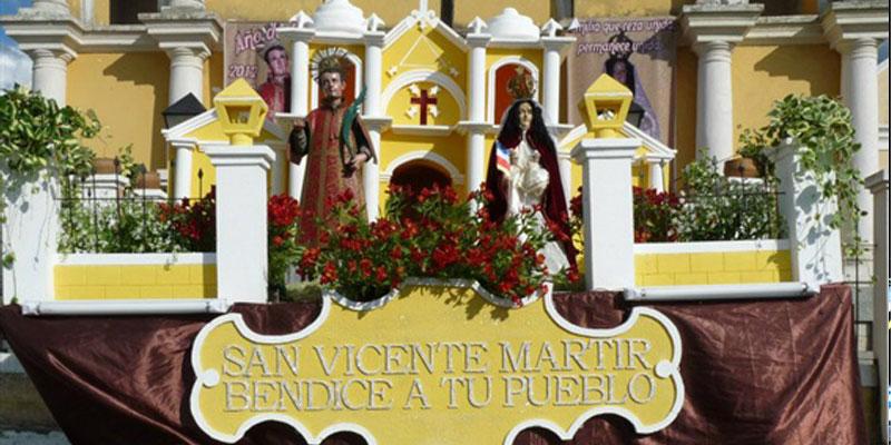 Fiesta patronal de San Vicente Pacaya, Escuintla