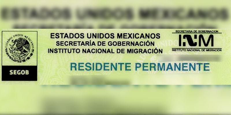 residencia permanente mexicana