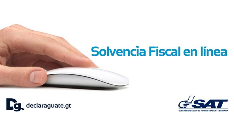 solvencia fiscal sat