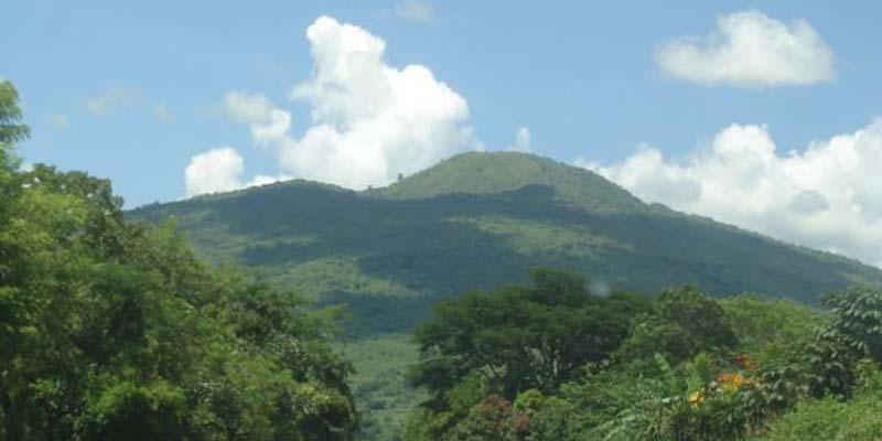 Volcán Amayo en Guatemala