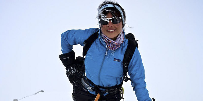 Alpinista Andrea Cardona