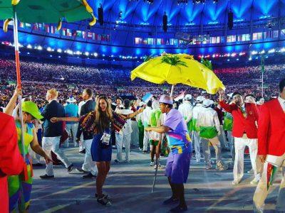 Atleta Isabel Brand en Río 2016