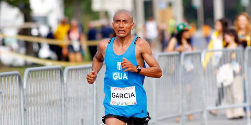 Atleta José Amado García