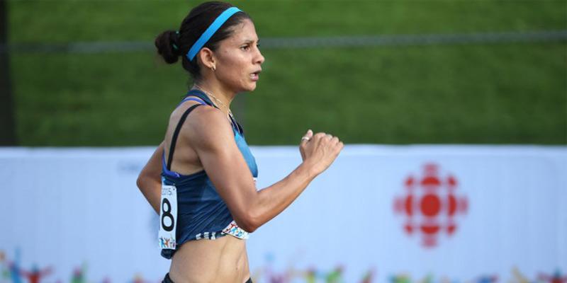 Atleta guatemalteca Mirna Ortiz