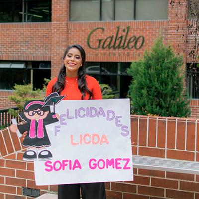Biografía de Ana Sofía Gómez - Foto Ana Sofía Gómez
