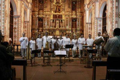 Canciones del Ensamble Capilla del Valle de la Asunción