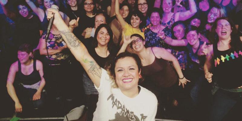 Cantante de rap guatemalteca Rebeca Lane