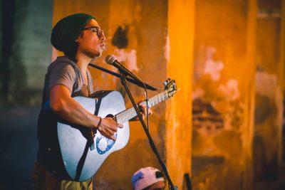 Cantante guatemalteco Pedro Boche