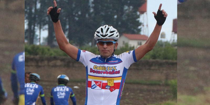 Ciclista Manuel Rodas