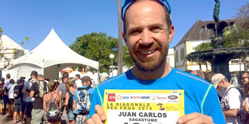 Deportista Juan Carlos Sagastume