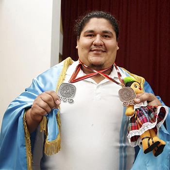 Deportista guatemalteco Christian López