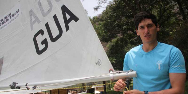 Deportista guatemalteco Juan Maegli