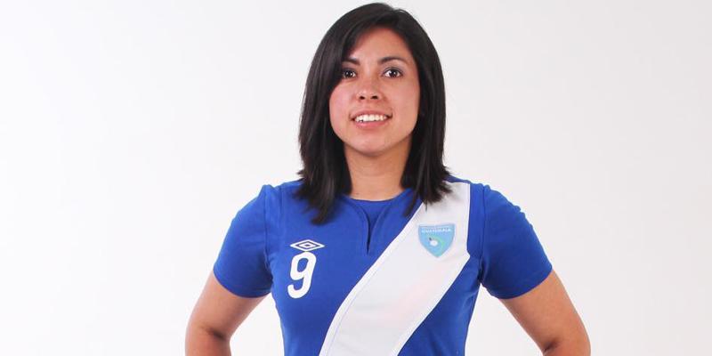 Futbolista Ana Lucía Martínez
