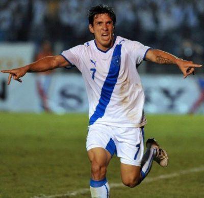 Futbolista Mario Rodríguez