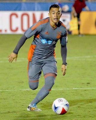 Futbolista Marvin Ceballos