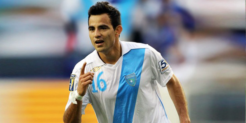 Futbolista guatemalteco Marco Pappa