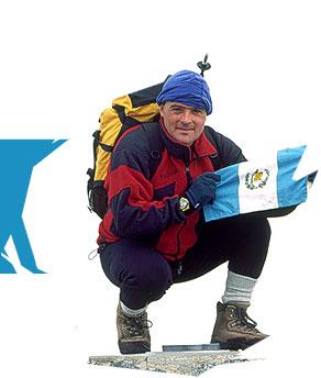 Jaime Viñals escaló las siete cumbres