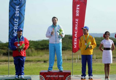 Jean Pierre Brol ganó medalla de oro en los Juegos Centroamericanos y del Caribe, Veracruz 2014