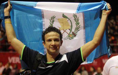 Kevin Cordón gana medalla de oro