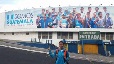 Marchista Maritza Poncio