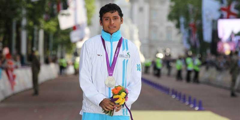 Medallista olímpico guatemalteco Erick Barrondo