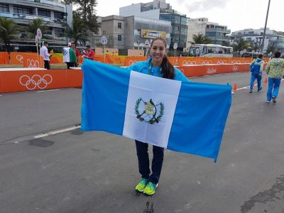 Valerie Gruest participó en el Campeonato Mundial de Natación 2013