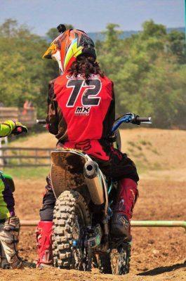Vicko Castillo piloto guatemalteco de motocross