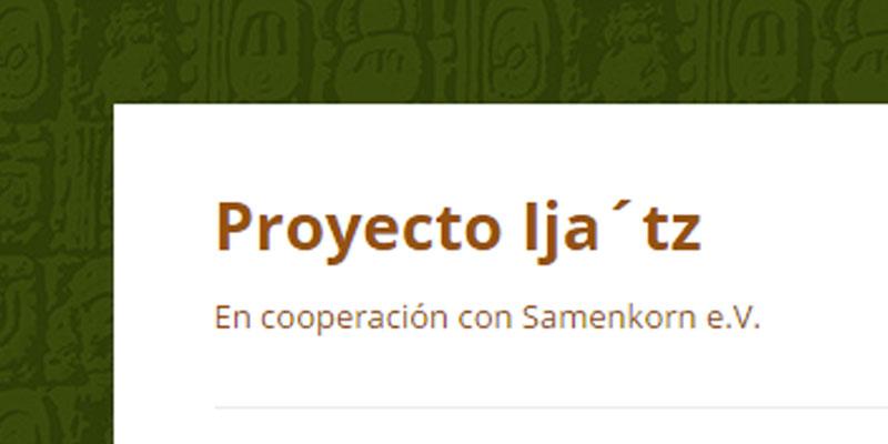 Becas de Proyecto Ija'tz