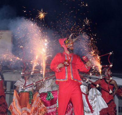 noche cultural en la feria de malacatan