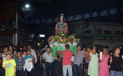 procesion de santa lucia malacatan san marcos