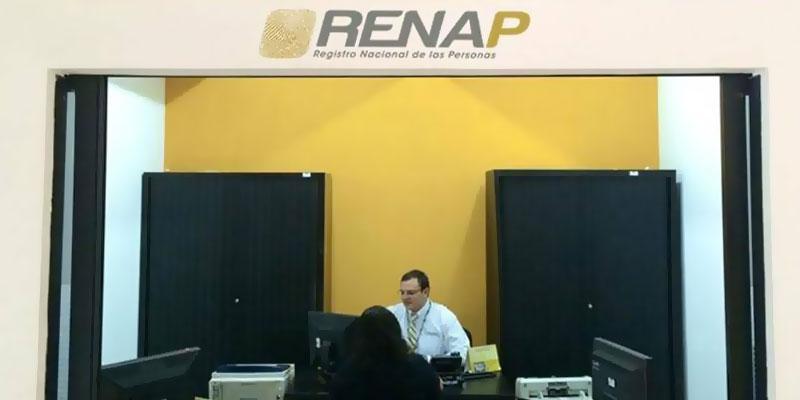 registro nacional de las personas renap