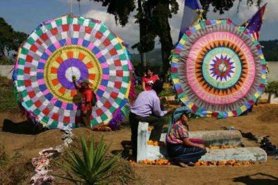 1 de noviembre Barriletes gigantes en Guatemala