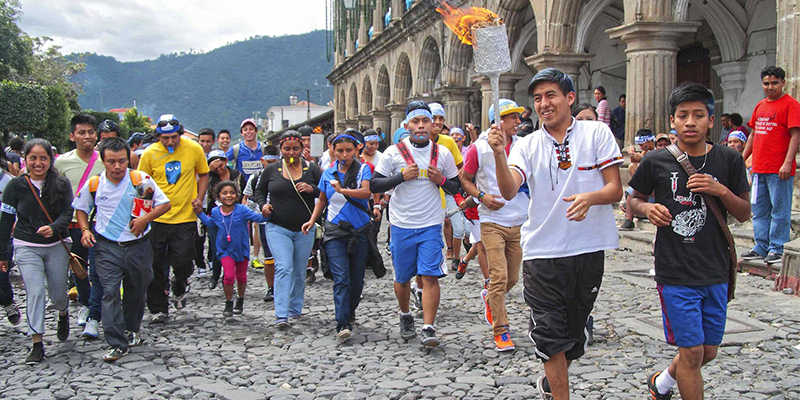 Antorchas de Independencia en Guatemala