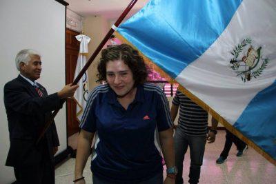 Atleta guatemalteca Sofia Granda