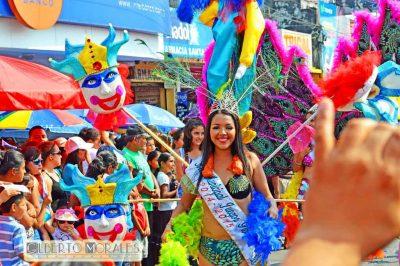 Carnaval de Mazatenango en Guatemala