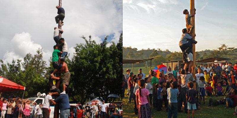 Dónde se realiza el Palo Ensebado en Guatemala