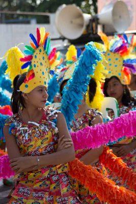 Eligen a la reina del Carnaval de Mazatenango en Guatemala