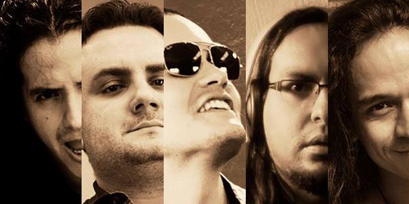 Integrantes de la banda Andromeda Guatemala