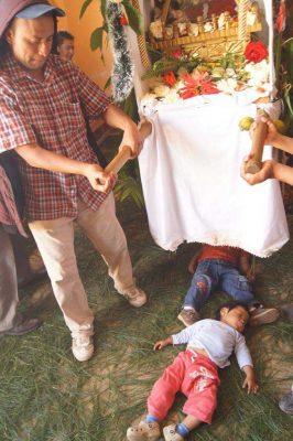 La Corrida del Niño Dios en Guatemala