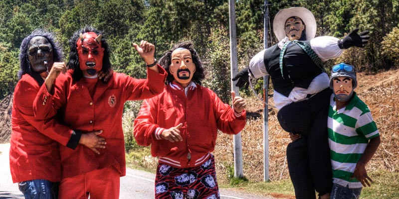 La Quema de Judas en Guatemala