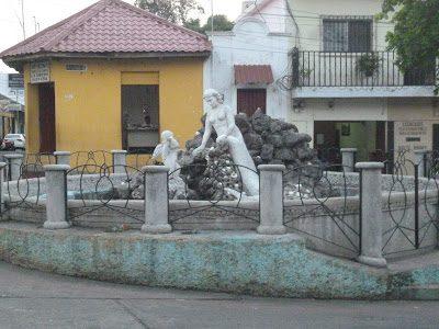 Leyenda de Guatemala de la Sirena y Cupido de Retalhuleu
