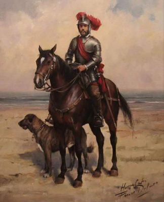 Leyenda de Guatemala del Caballo de Hernán Cortés