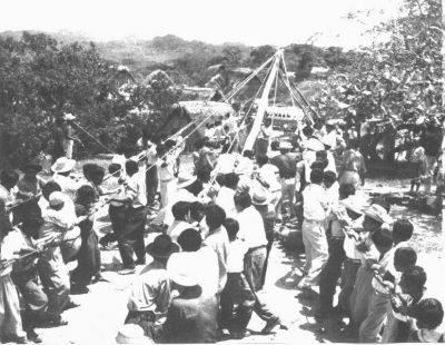 Origen del Palo ensebado en Guatemala