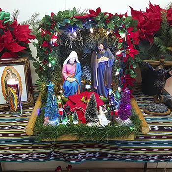 Posadas navideñas en Guatemala
