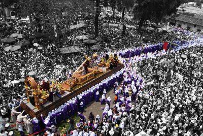 Procesion del Señor Sepultado de San Felipe, Antigua Guatemala
