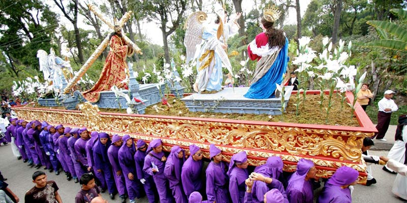 Procesiones de Guatemala en Semana Santa