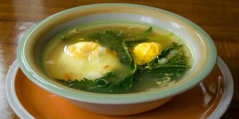 Cómo hacer un Caldo de Huevo