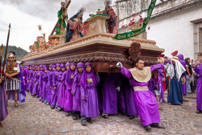Semana Santa y procesiones en Guatemala