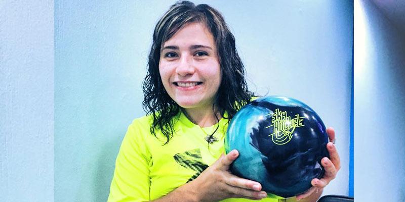 Sofía Matilde Granda pertenece a la Selección Nacional de Boliche de Guatemala