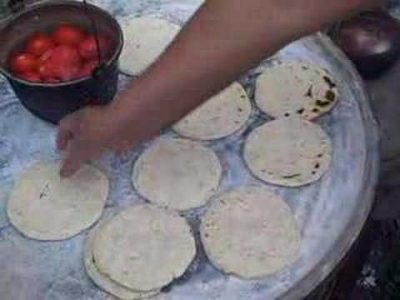 Tortillas de maíz guatemaltecas